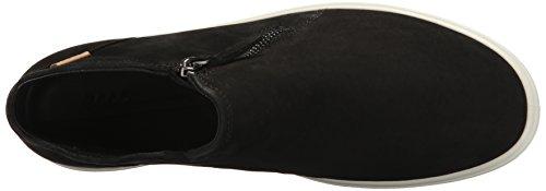 Femme powder 7 Black Sneakers Hautes Soft Ladies Noir Ecco BwP6n