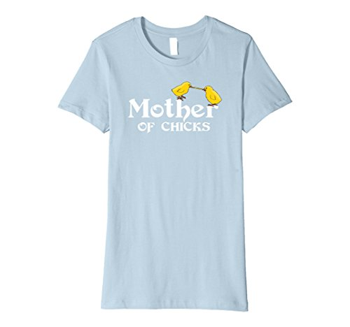 Womens Mother Of Chicks Mama Hen T-Shirt Small Baby (Mother Chicks)