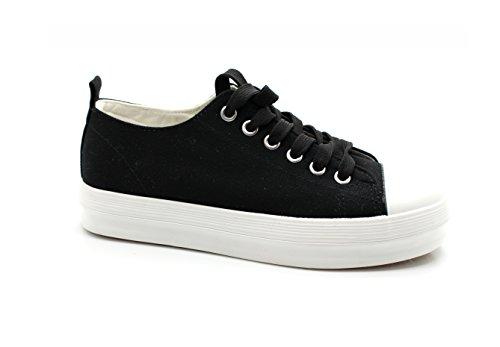 Mujer Casual para Deporte Negro de Zapatos Dog American Classics qw066B
