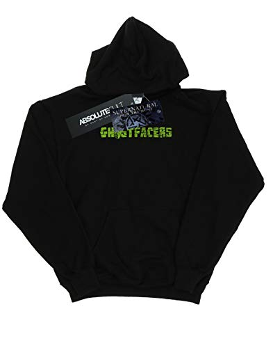 Absolute Ghostfacers Supernatural Capucha Logo Mujer Negro Cult fqf0aZ