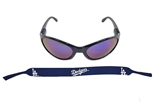 Official Major League Baseball Fan Shop Authentic Sunglasses and Neoprene MLB Team Strap. Enjoy tailgating and the Game in the Sun with cool specs (Los Angeles - Spec Sunglasses Military