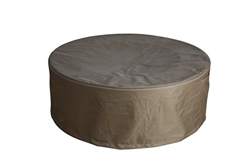 Canvas cover for Lunar Bowl Fire Pit by Elementi