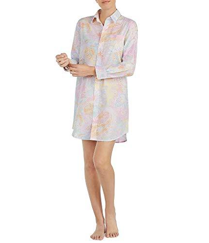 - Lauren Ralph Lauren Women's Sateen Sleepshirt (Large, Multi Paisley)