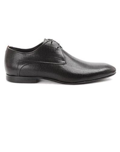 c185933fb2d BOSS Hugo - Hugo Derbies - Homme - Chaussure Nammi Cuir Frappé Noir ...