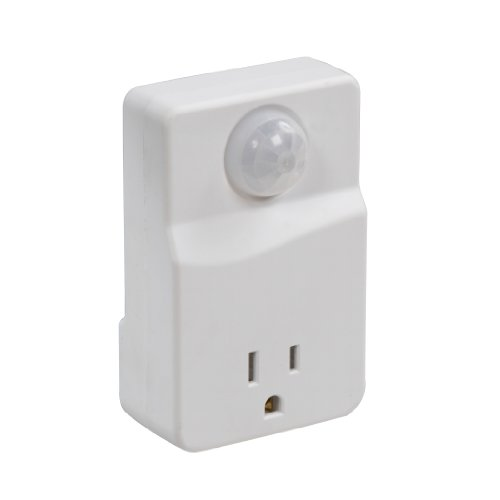 Westek MLC4BC Indoor Plug-In Motion Activated Light Control