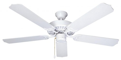 Ellington ELN52WW5 52-Inch Energy Star Five-Blade Ceiling Fan, White, Appliances for Home