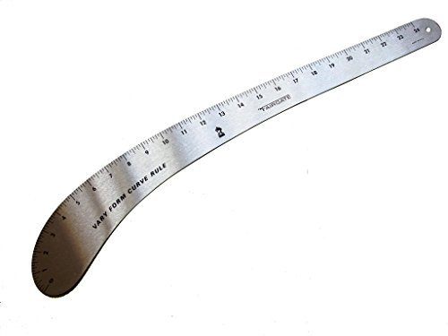 Fairgate Fashion (FAIRGATE Vary Form (French Curve Ruler) 24in Long (Model No. 12-124) MADE IN THE U.S.A.)