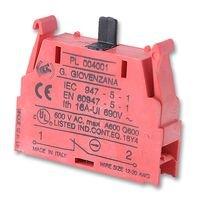 (BERNSTEIN PL004001 CONTACT BLOCK, SPST-NC (1 piece))