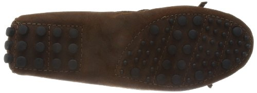 Driver Minnetonka Mocasines Kilty Brown para mujer aqgS5wq