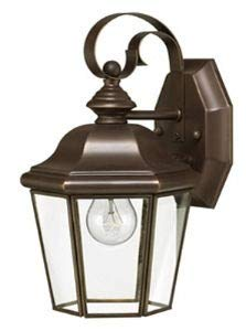 Hinkley 2420CB, Clifton Park Outdoor Wall Sconce Lighting, 60 Total Watts, - Glass Lighting Bound Traditional