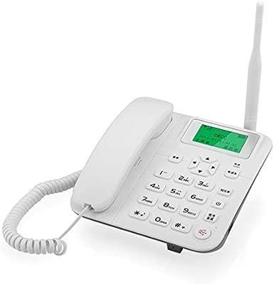WYZBD Teléfono Fijo inalámbrico Fijo teléfono Fijo de la ...