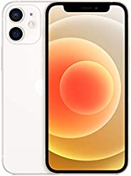 New Apple iPhone 12 mini (128GB, White) [Locked] + Carrier Subscription