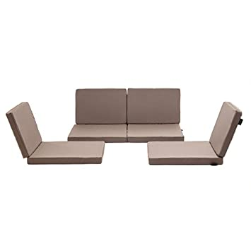Taupe Water Resistant pc Replacement Cushion Set for Rattan