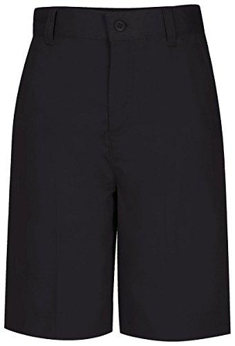 Classroom Uniforms Juniors Flat Front Bermuda Short, Black, 8