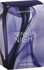 Essence of Beauty Sensual Night Eau De Parfum 1 Oz Spray (Essence Of Beauty Body Mist)
