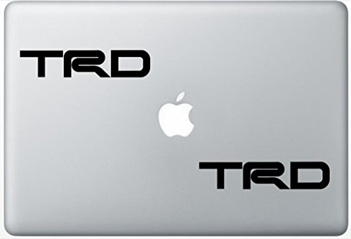 Rampg Toyota Trd Brake Caliper High Temp FlashDecals1920 Set Of Two (2x) , Decal , Sticker , Laptop , Ipad , Car , Truck (Computer Caliper)