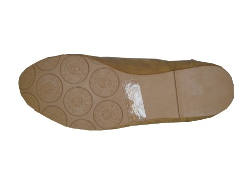 Nature Breeze Women Cambridge-03 Flats,8 B(M) US,Tan