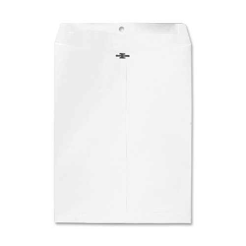 Sparco Clasp Envelope, 28 lbs, 9 x 12 Inches, 100 per Box, White (SPR01366)