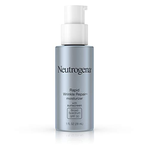 Neutrogena Rapid Wrinkle Repair Daily Hyaluronic Acid Retinol Face Moisturizer, Anti Wrinkle Face...