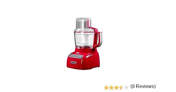 KitchenAid 5KFP0925 - Robot de cocina (Rojo, 3,2 kg, 27,9 cm, 25,4 cm, 50/60 Hz, 220-240V): Amazon.es: Hogar