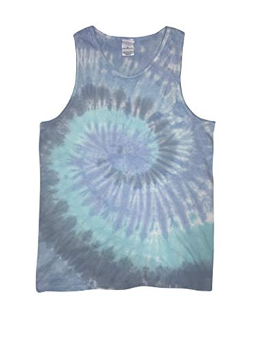 Colortone Tie Dye Tank Top MD -