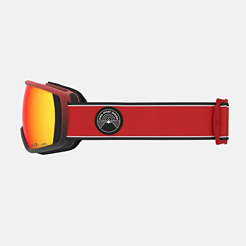 Giro Balance Adult Snow Goggles - Red Element Strap with Vivid Ember Lenses (2020)