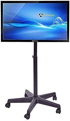 KBKG821 Soporte para TV rodante Carrito de TV móvil, para Pantallas Planas de Plasma LCD de 14-40 Pulgadas LED 360º de Giratorio con Ruedas Piso móvil Inicio: Amazon.es: Hogar