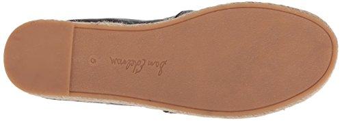 Sneaker On Black Slip Edelman Women's Leather Sam Espadrille Platform Carrin 0PwS4q