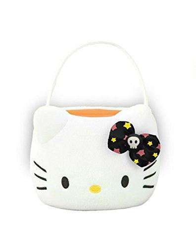 Hello Kitty Plush Treat Basket Halloween