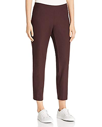 Eileen Fisher Cassis Washable Stretch Crepe Slim Ankle Pant Size PM MSRP $168