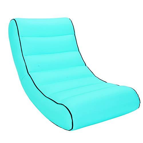 C 505020cm HEKQ Matelas gonflables Air Gonflable Chaise canapé Chaise Longue canapé-lit Gonflable de l'eau de Haute qualité portable pli extérieur intérieur 30 Couleurs (Couleur   F, Taille   165  70  30cm)