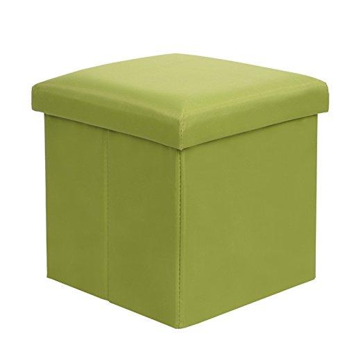 STJK$BMJW Head of Bed Chair Children Chair Fabrics Children Admit Bench Locker Room Sitting Room Bedroom Wooden Bench (303030Cm) Green Party by STJK$BMJW