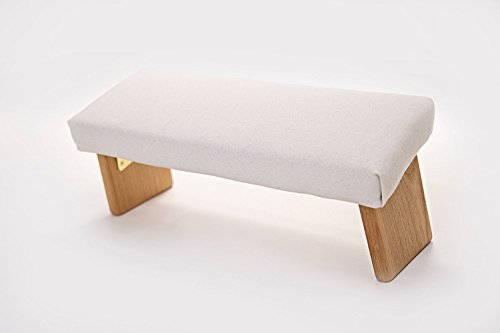 Tall Natural Wood (Folding Meditation Bench From Ananda Woodworking (Natural, Tall))