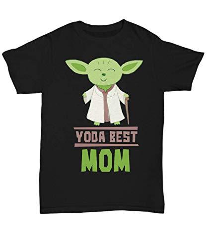 Gift Moms - Yoda Best Mom T-Shirt - Star Wars Funny Shirt Present - Unisex -