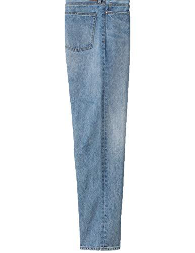 New Lands' End Men's Traditional Fit Jeans. Light Wash. Size W38x30L -