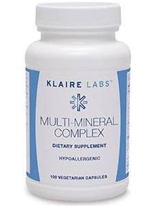 Klaire Labs - Multi-Mineral Complex 100 caps - No Iron Multi Mineral Complex