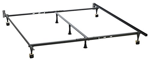 Holly-Lock Adjustable Keyhole Bed Frame, One Frame Fits All Sizes by Hollywood Bed Frames