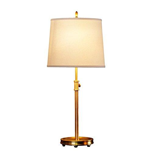 Alle Kupfer-Lampe Wohnzimmer Schlafzimmer Arbeitszimmer kupfernen Tuch Tischlampe Retro Kupfer-Lampe