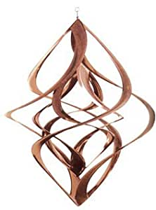 Dbl. Helix COPPER Windspinner 17""