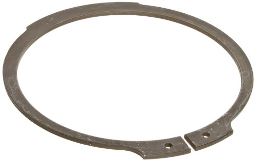 Standard External Retaining Ring, Tapered Section, Axial Assembly, 1060-1090 Carbon Steel, Phosphate Finish, 2-3/8'' Shaft Diameter, 0.078'' Thick, Made in US (Pack of 5) by Small Parts