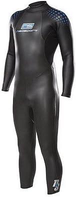 NeoSport 5/3mm Unisex Triathlon Sprint Full Tri Suit Wetsuit Wet Suit Fullsuit John Triathlete Gear New Authorized Dealer Full Warranty, XS