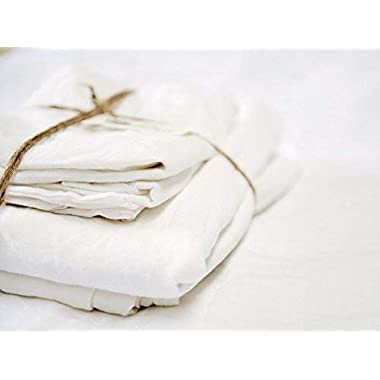 Merryfeel Luxurious 100% Pure French Linen Sheet Set - Queen
