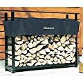 Woodhaven Log Rack 5ft with Cover
