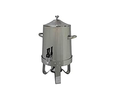 Fixture Displays Dispenser, Coffee Urn, Large Stainless Steel 13037 13037