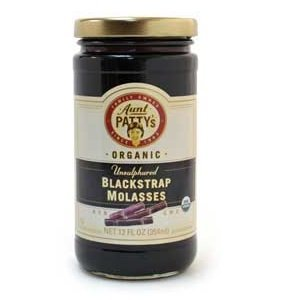 Aunt Pattys BCA29095 Og2 Black Molasses, 6 x 12 oz