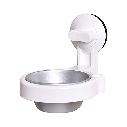Liitrton Wall-Mounted Bathroom Ashtray with Suction Cup Toilet Hanging Cigarette Box for Bathroom Kitchen Bar