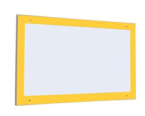 Mobeduc 602018H17-Specchio di Sicurezza per Bambini, imbutitura, in Legno, Colore: Giallo/faggio, 110 x 60 x 2 cm Mobeduc_602018H17