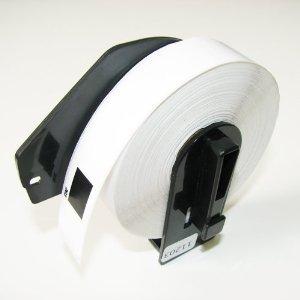 Dk1203 File Folder Label (OfficeSmart 2 Rolls Brother Compatible DK-1203 Die-Cut File Folder Labels-PREMIUM QUALITY for Brother QL-500 QL-550 QL-570 QL-580N QL-650TD QL-700 QL-710W QL-720NW QL-1050 QL-1050N QL-1060N QL Printer)