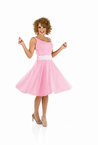 [Ladies 80s Baby Dancer Costume For Dancing Dirty Fancy Dress Adults Womens Small 8-10 by Partypackage] (1980s Costume)