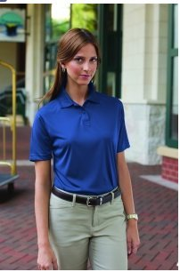 Whispering Pines Sportwear 361 Womens 100 Percent Polyester Performance Polo Shirt44; Royal44; Extra Large from Whispering Pines Sportwear